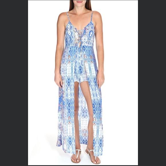 783bf6e59de Luxxel Dresses   Skirts - Luxxel Maxi Romper
